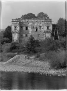 Szymbark (powiat gorlicki). Kasztel szlachecka Gładyszów. Widok od strony południowej