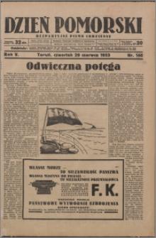 Dzień Pomorski 1933.06.29, R. 5 nr 146