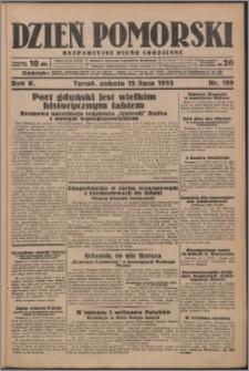 Dzień Pomorski 1933.07.15, R. 5 nr 159