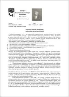 Biuletyn Koła Miłośników Dziejów Grudziądza 2003, Rok 1, nr 4 : Mirosław Bezłuda (1898-1946)- zapomniany pisarz grudziądzki