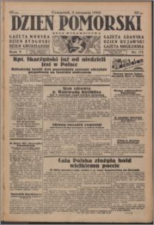 Dzień Pomorski 1933.08.03, R. 5 nr 175