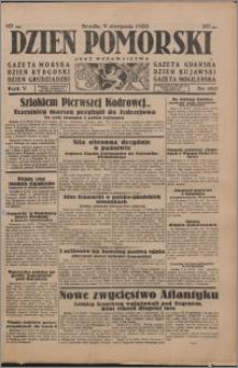 Dzień Pomorski 1933.08.09, R. 5 nr 180