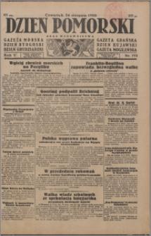 Dzień Pomorski 1933.08.24, R. 5 nr 192
