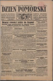Dzień Pomorski 1933.08.26, R. 5 nr 194