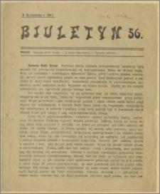 Biuletyn 56. 18 stycznia 1918 r.