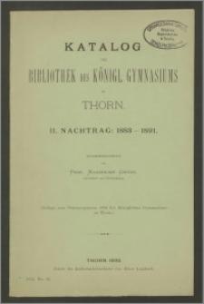 Katalog der Bibliothek des Königl. Gymnasiums zu Thorn