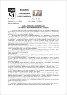 Biuletyn Koła Miłośników Dziejów Grudziądza 2004, Rok 2, nr 25(30) : Ulica Toruńska w Grudziądzu i jej rozkwit w okresie międzywojennym w XX wieku