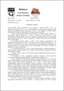 Biuletyn Koła Miłośników Dziejów Grudziądza 2004, Rok 2, nr 29(34) : Historia Tarpna
