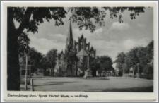 Lauenburg i. Pom. : Horst-Wessel-Platz m. ew. Kirche