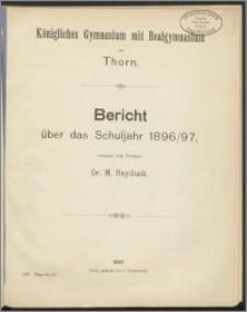 Bericht über das Schuljahr 1896/97