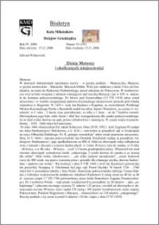 Biuletyn Koła Miłośników Dziejów Grudziądza 2006, Rok 4, nr 33(107): Dzieje Maruszy i okolicznych miejscowości