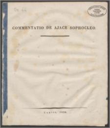 Commentatio de Ajace Sophocleo