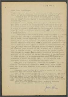 List Janiny Miłosz z dnia 22 stycznia 1969 roku