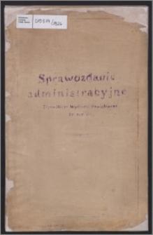 Sprawozdanie Administracyjne Tczewskiego Wydziału Powiatowego za rok 1926