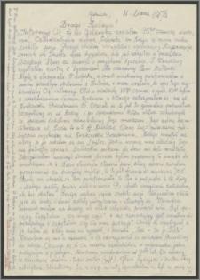 List Piotra Pietkiewicza z dnia 11 lipca 1978 roku [do Stanisława Kiałki]