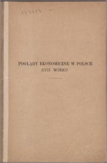 Poglądy ekonomiczne w Polsce XVII wieku