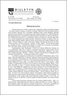 Biuletyn Koła Miłośników Dziejów Grudziądza 2008, Rok VI, nr 38(191): Historia harcerstwa