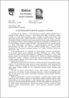 Biuletyn Koła Miłośników Dziejów Grudziądza 2007, Rok 5, nr 24(137) : Walki powietrzne w rejonie Grudziądza w 1939 roku