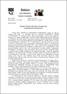 Biuletyn Koła Miłośników Dziejów Grudziądza 2007, Rok 5, nr 39(152) : Ksiądz Prałat Zdzisław Peszkowski wspomnienia pośmiertne