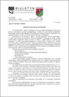 Biuletyn Koła Miłośników Dziejów Grudziądza 2009, Rok 7, nr 1(193) : Doliną Osy przez powiat Grudziądzki
