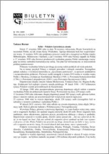 Biuletyn Koła Miłośników Dziejów Grudziądza 2009, Rok 7, nr 13(205) : Sybir - Polaków katorżnicza ziemia