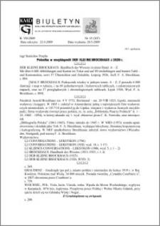"""Biuletyn Koła Miłośników Dziejów Grudziądza 2009 : Polonika w encyklopedii """"Der kleine Brochaus"""" z 1926 r."""