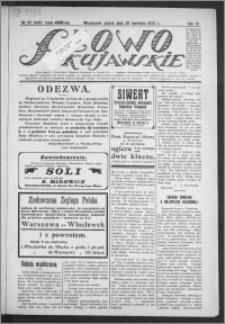 Słowo Kujawskie 1923, R. 6, nr 87