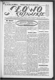 Słowo Kujawskie 1923, R. 6, nr 138