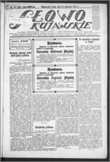 Słowo Kujawskie 1923, R. 6, nr 141