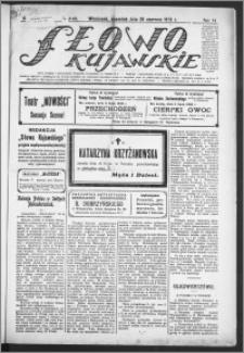 Słowo Kujawskie 1923, R. 6, nr 142