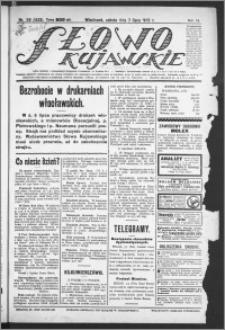 Słowo Kujawskie 1923, R. 6, nr 149