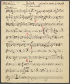 Chłopek : chór męski z towarzyszeniem orkiestry (fortepianu)