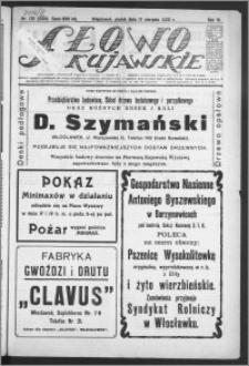 Słowo Kujawskie 1923, R. 6, nr 176