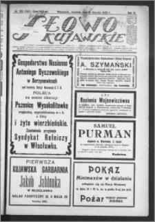 Słowo Kujawskie 1923, R. 6, nr 178