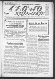 Słowo Kujawskie 1923, R. 6, nr 269