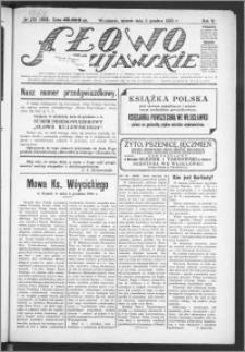 Słowo Kujawskie 1923, R. 6, nr 272