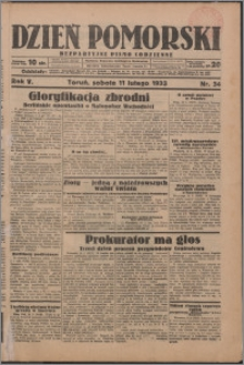 Dzień Pomorski 1933.02.11, R. 5 nr 34