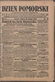 Dzień Pomorski 1933.02.18, R. 5 nr 40