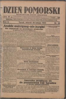 Dzień Pomorski 1933.02.28, R. 5 nr 48