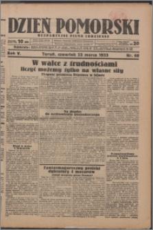 Dzień Pomorski 1933.03.23, R. 5 nr 68