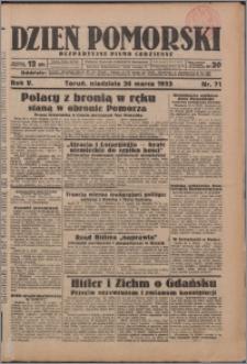 Dzień Pomorski 1933.03.26, R. 5 nr 71