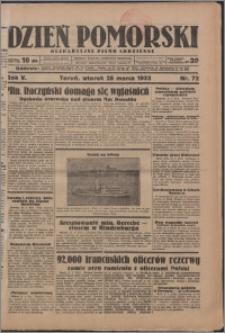 Dzień Pomorski 1933.03.28, R. 5 nr 72
