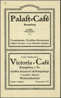 [Katalog] : Palast Café : Concert-Programm. Speisen - und Getränke - Tarif