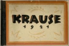 [Katalog] : [Inc.:] Krause 1921