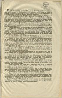 Durch die Kabinets - Ordre vom 24. v. M. ist auf den Antrag einer polnischen Deputation aus Posen die Reorganisation des Grossherzogthum Posen nachgegeben worden [...]. : Bromberg, den 9. April 1848