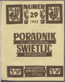 Poradnik dla Pracowników Świetlic Żołnierskich : wydawnictwo Polskiej YMCA w W. Brytanii 1943, nr 1 (29)