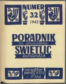 Poradnik dla Pracowników Świetlic Żołnierskich : wydawnictwo Polskiej YMCA w W. Brytanii 1943, nr 4 (32)