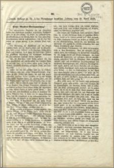 Hohe Bundes - Versammlung! : Bromberg, den 15. April 1848