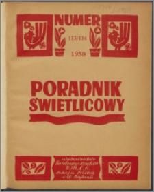 Poradnik Świetlicowy / Polska YMCA w W. Brytanii 1950, R. 11 nr 113-114