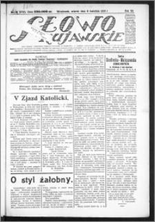 Słowo Kujawskie 1924, R. 7, nr 81